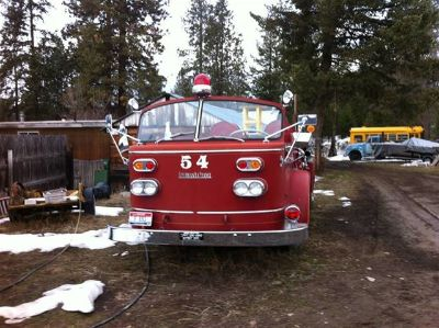 1954 Franklin American LaFrance Firetruck