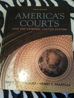 America Courts System (College Book)