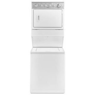 Whirlpool Stacked Washer and Dryer (Laundry Center) WETLV27FW