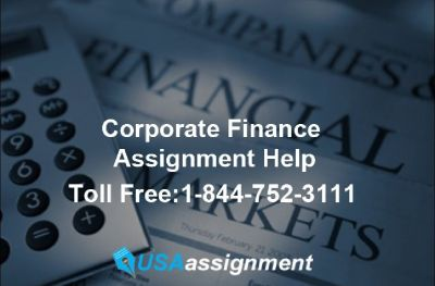 Corporate Finance Assignment Help [Casestudy Help]