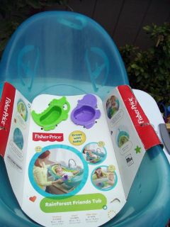 New Still Sealed Fisher Price Baby Bath With Toys