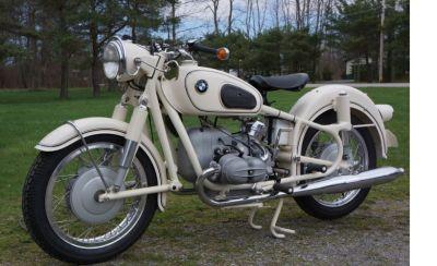 1959 BMW R69 Dover White