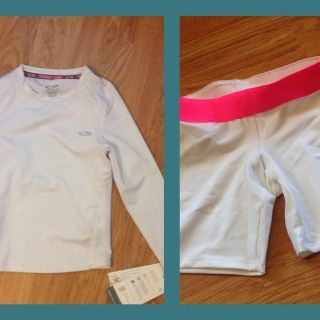 Champion size 4-5 little girl's base layers