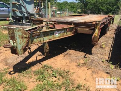 2001 (unverified) Maxey T/A Equipment Trailer
