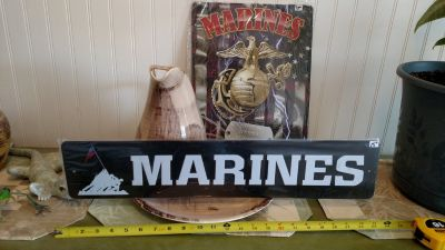 Marine Metal Signs - 2 Designs New