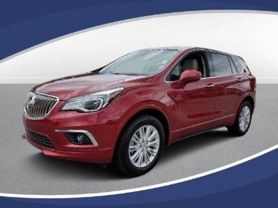 2018 Buick Envision AWD 4dr Preferred (CHILI RED METALLIC)