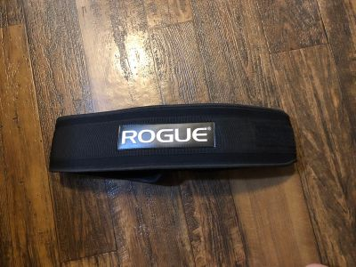 Weight lifting support belt