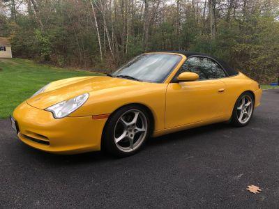 2002 Porsche 911 Cabriolet