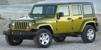 2007 Jeep Wrangler Unlimited Sahara (Maroon)