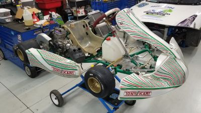 2017 Tony Kart 401 racer w/X30 junior