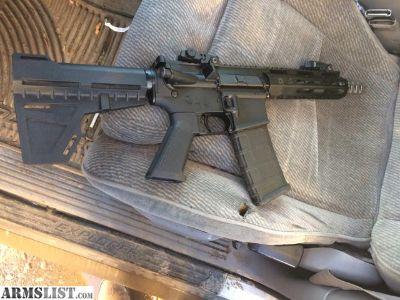 "For Sale: 7.5"" AR pistol"