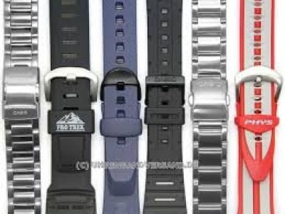 Casio Watch Band Replacement
