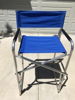 Tall director s chair