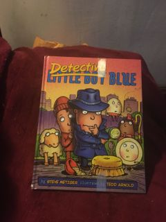 Detective Blue - Illustrated by the author of Fly Guy!