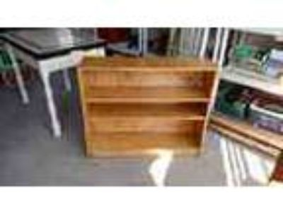 Small Solid Wood Bookcase