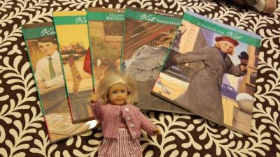 American Girl Kit- book 2-6 with doll