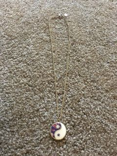 Ting yang Claire s necklace