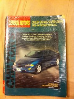 Cavalier/sky hawk/sunfire/sunbird manual