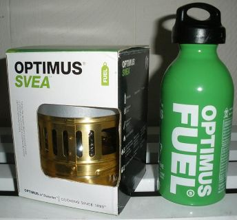 Optimus-Svea Backpacking C-Stove and Fuel-Bottle