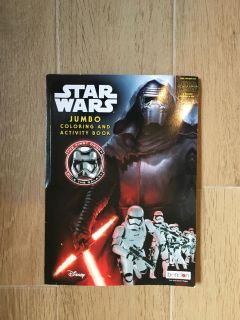 New Star Wars Coloring & Activity Book