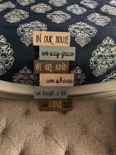 Cute Wooden Distressed Sign