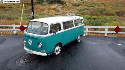 1968 restored bay window bus