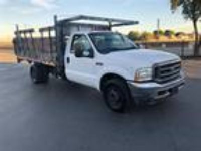 2003 Ford F-350 Stakebed DRW Power Liftgate Flatbed