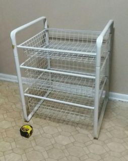 LARGE/METAL/HEAVY DUTY/ORGANIZER......EXCELLENT CONDITION