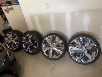 20 in verde diamond rims tires