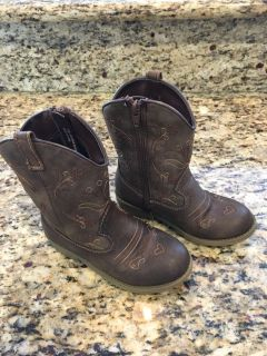 Cat & Jack brown boots size 11