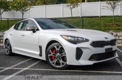 2018 Kia Stinger GT2 AWD (Snow White Pearl)