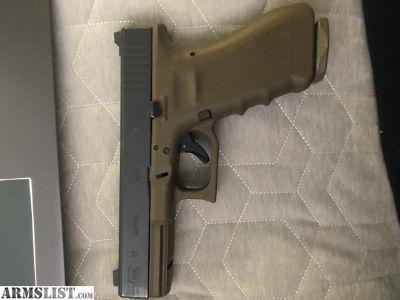 For Sale/Trade: Vickers Glock 17 RTF2 FDE