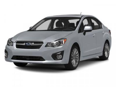 2014 Subaru Impreza 2.0i (Satin White Pearl)