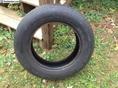 Beetle tire 165R15
