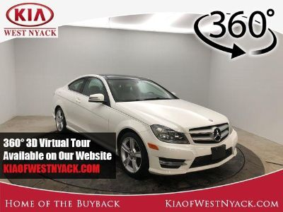 2013 Mercedes-Benz C-Class C250 (Diamond White)