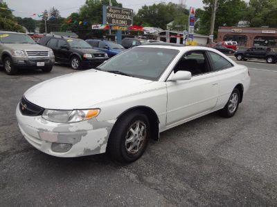 2001 Toyota Camry Solara SE (White)