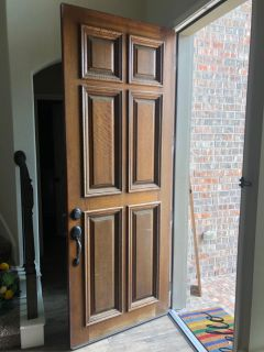 Solid Mahogany Door