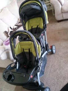 $100, Double Stroller