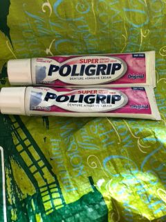 Free 2 almost full Tubes of Polygrip