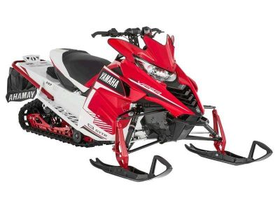2016 Yamaha SRViper L-TX SE Heat Red / White Snowmobile Touring Snowmobiles Zulu, IN