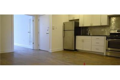 Quaint and very spacious 3 bedrooms 2 bathrooms Brownstone apartment. Dog OK!