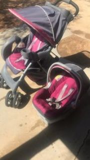 stroller and matching car seat
