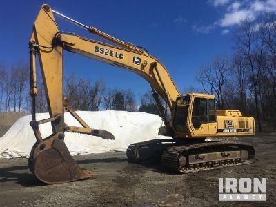 John Deere 892ELC Track Excavator