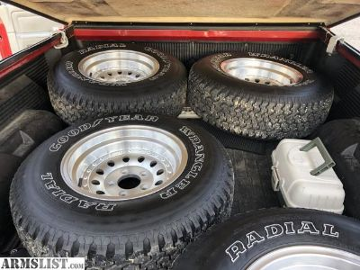 For Sale: Tires and wheels