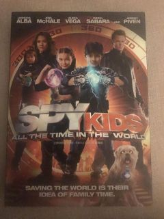 Spy Kids All thy Time in the World dvd