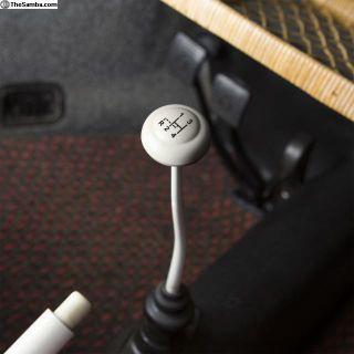 4-speed Shift Pattern Ivory Gear Shift Knob