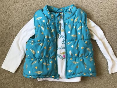 3T Long sleeve T-shirt and vest