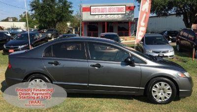 2010 Honda Civic Sdn DX   Basic But Drives Well!