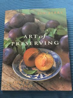 Art of Preserving Book . Excellent condition !