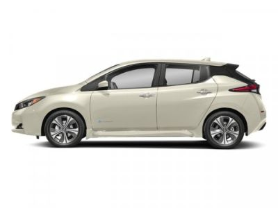 2018 Nissan LEAF SL (2-Tone White/Black)